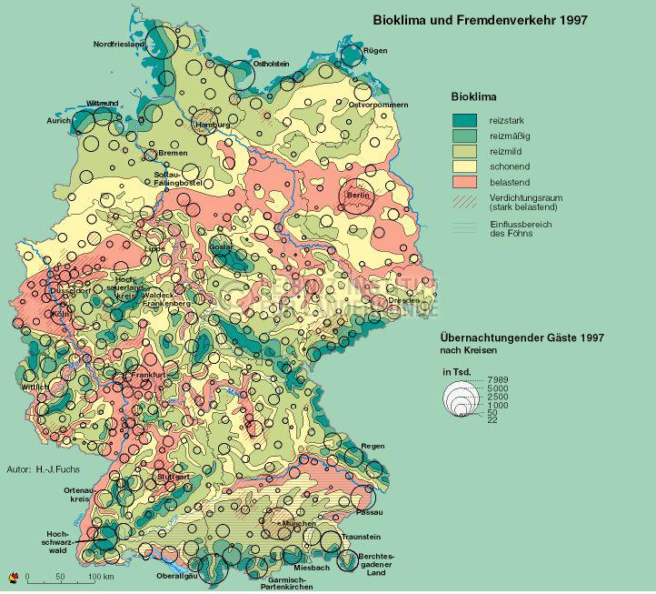 Wonderful Bioklima Und Fremdenverkehr. 1997